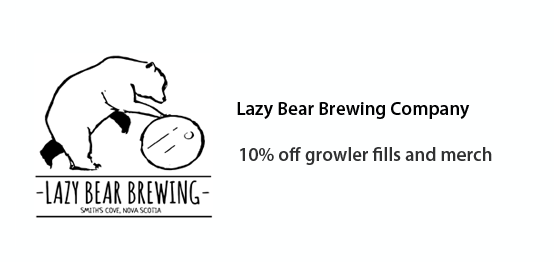 Lazy Bear Brewing Co. - 10% off growler fills and merchandise