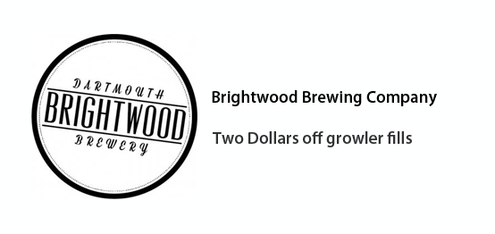 Brightwood Brewing Co. - Two dollars off growler fills